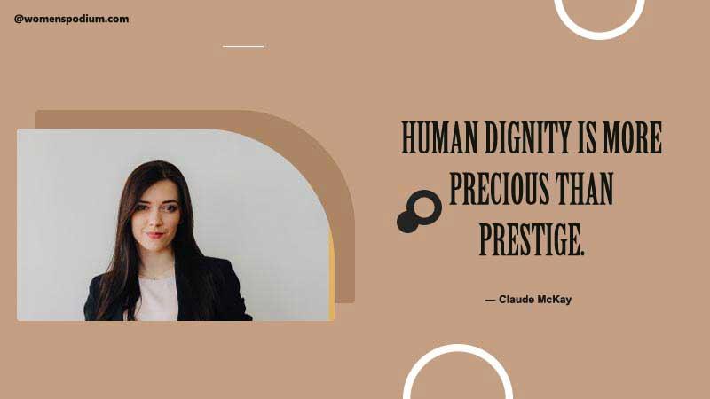 Human dignity