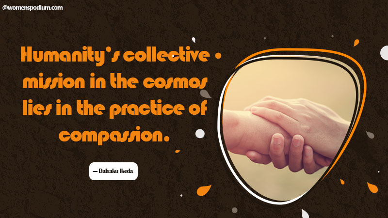 Practice of compassion
