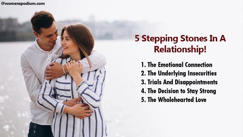 5 Stepping Stones In A Relationship