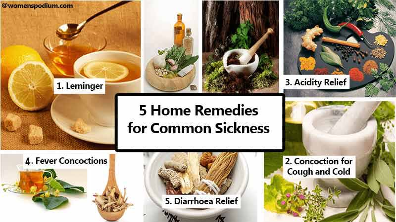 Remedies for sickness