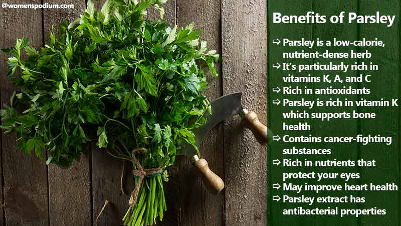 Benefits of Parsley