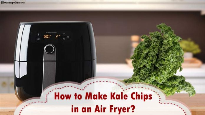 How to Make Kale Chips in an Air Fryer