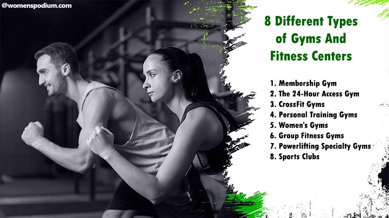Different types of gyms