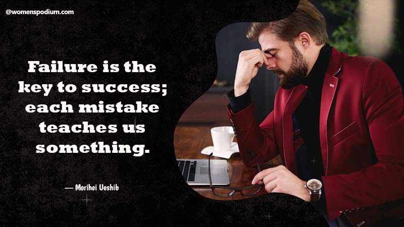 Failure is the key
