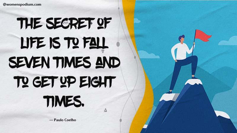 secret of life - failure quotes