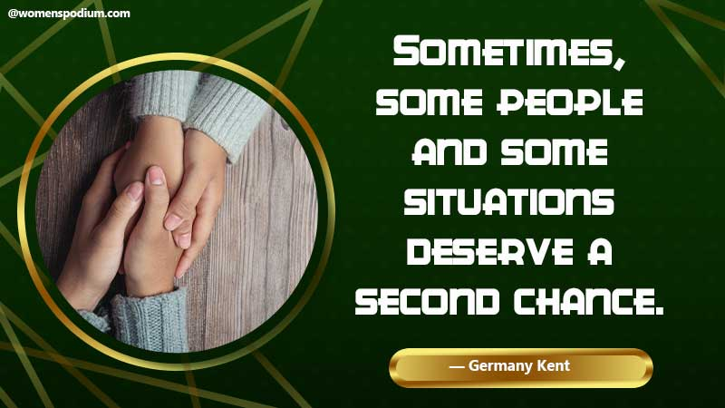 some deserves a second chance