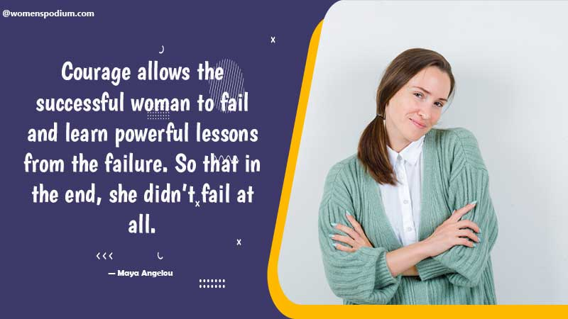 Successful woman - failure quotes