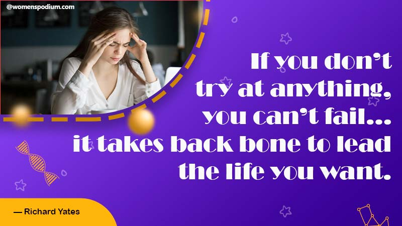Try at anytime - quotes about failure