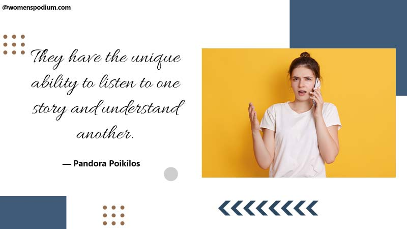 Unique ability to listen
