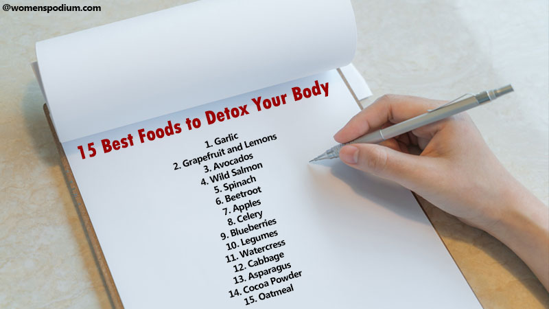 Foods to Help Detox Your Body