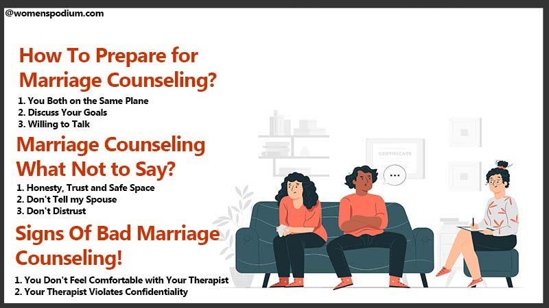 Marriage Counseling What Not to Say