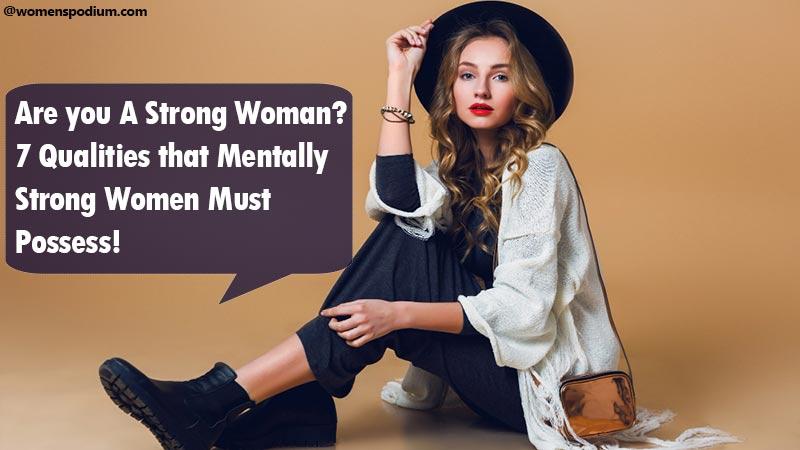 Mentally Strong Women