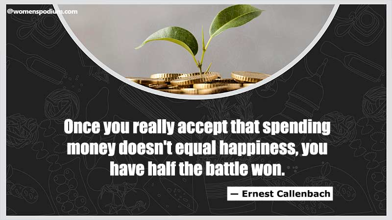 Spending money is not happiness