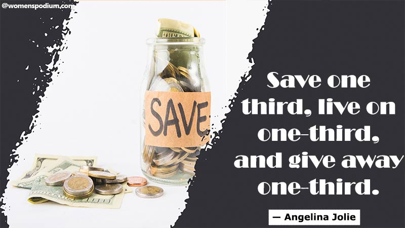 Save one third