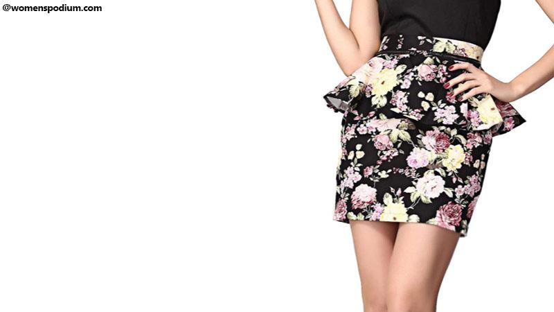 Summer Peplum Skirt
